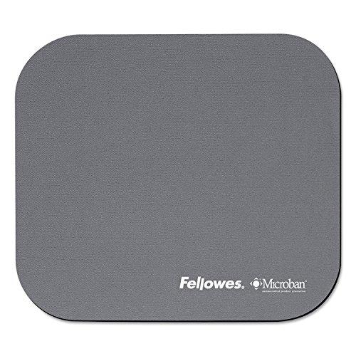 Fellowes Microban Mouse Pad Silver Plata alfonbrilla para ratón - Alfombrilla de ratón (Plata)