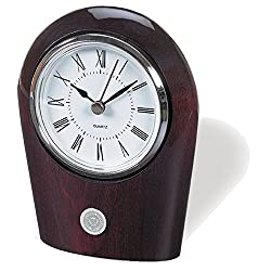NCAA Arizona State Sun Devils Adult Palm Clock, One Size, Silver