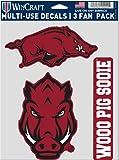 WinCraft NCAA University Arkansas Razorbacks Aufkleber, vielseitig verwendbar,...