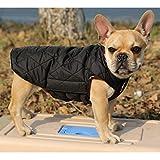 Generic Wasserdichten Reversiblen Hund Jacke Mantel Winter Warme Kleidung – Grün , M - 8