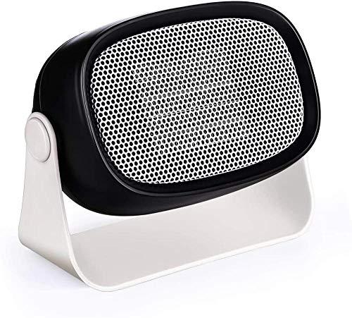 GFEI Calentador de Ventilador eléctrico Estufa eléctrica de 500W Bajo Consumo Calienta...
