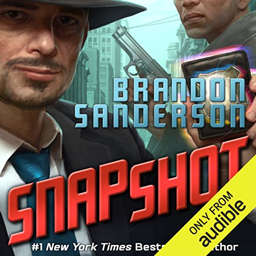 Snapshot audiobook cover art