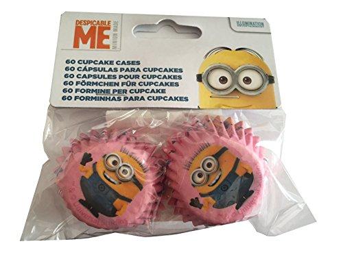 60 Mini-caissettes à Cupcakes Minions