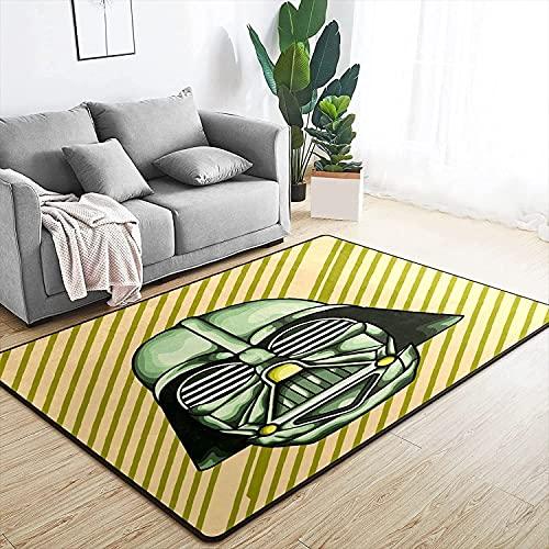 URUNI Sterne Wars Darth Vader Area Teppich Super Soft Mats Rechteck Boden Teppiche for Spielzimmer Schlafzimmer Wohnzimmer Küche Home Decoration (Größe : 100x160cm/39.4x63 inch)