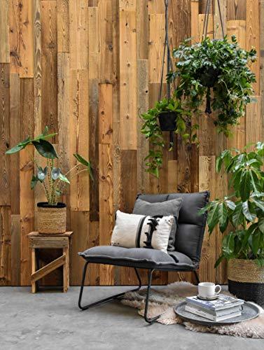 Barnwood Wandholz Altholz Montreal, Wandverkleidung aus Holz in 3D-Optik, 0,8 m2