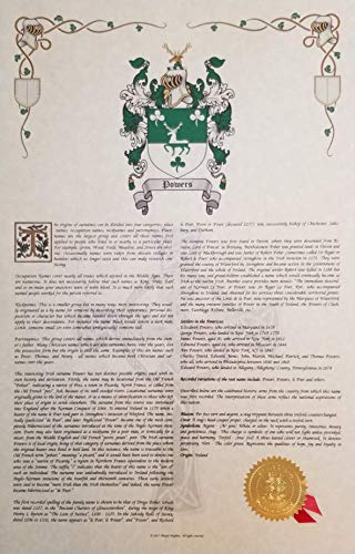Mr Sweets Tronco Coat of Arms, Crest & History 11x17 Print - Name Meaning, Genealogy, Family Tree Aid, Ancestry, Ancestors, Namesakes - Surname Origin: Italian Italy