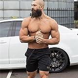 Zoom IMG-1 frauit pantaloncini palestra uomo bodybuilding