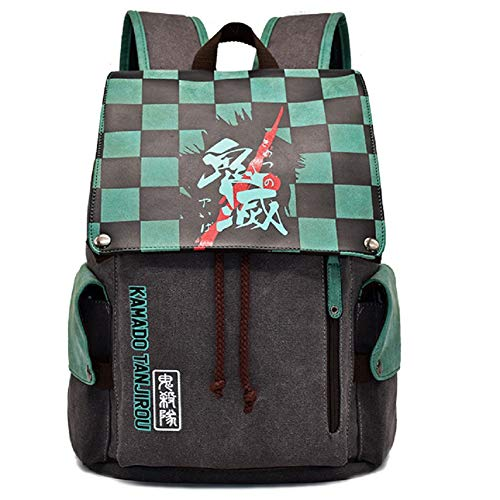YEOU Anime Backpack Cosplay Drawstring School Bag Travel Bag For Unisex Students Anime Fans (Style-01)