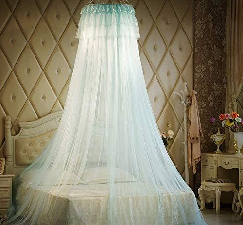 Pingrog Partable Tent Mosquito Netto Kant Casual Chic Ronde Muggen Netto Cradle Ger Stijl Anti Muggen Baby wieg Netting Bedsprei luifel Beige