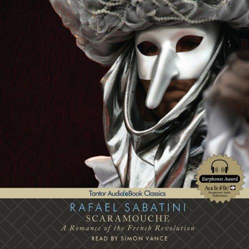 Scaramouche audiobook cover art