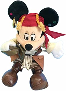 Pirates of the Caribbean Mickey Mouse Bean Filled Plush