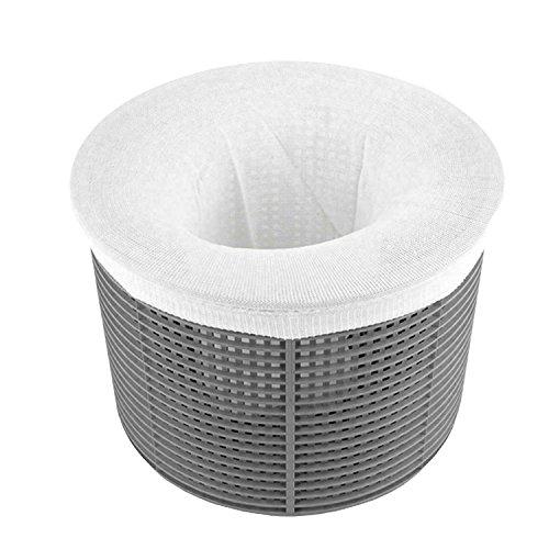 Ultra Fine Mesh Pool Skimmer Filter Socks - 30 Pack