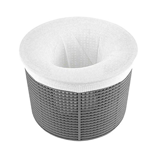 Ultra Fine Mesh Pool Skimmer Filter Socks - 30 Pack