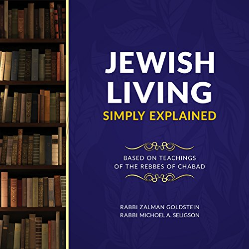 Jewish Living Simply Explained audiobook cover art