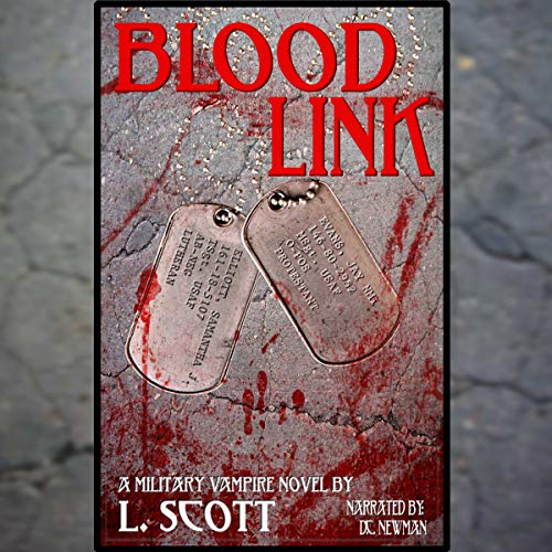 Blood Link audiobook cover art