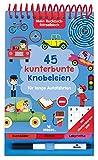 Mein Ruckzuck-Rätselblock für lange Autofahrten | Rätselbuch mit abwischbarem Stift | Für Kinder...