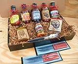 Kansas City Barbecue Sauce KC Legendary Combo Pack, Premium Gourmet Box Set [Arthur Bryants, Gates, Oklahoma Joes Cowtown, Zardas, & More]