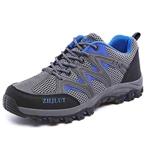 N\C Verano Al Aire Libre Zapatos De Senderismo Hombres Y Mujeres Zapatos De Senderismo Amantes Zapatos De Deportes De Malla Zapatos Deportes