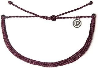 Jewelry Bracelets Solid Bracelet - 100% Waterproof and Handmade w/Coated Charm, Adjustable Band