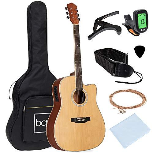 Best Choice Products juego de guitarra eléctrica acústica...