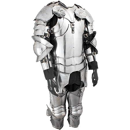 NAUTICALMART Wooden Armor Stand