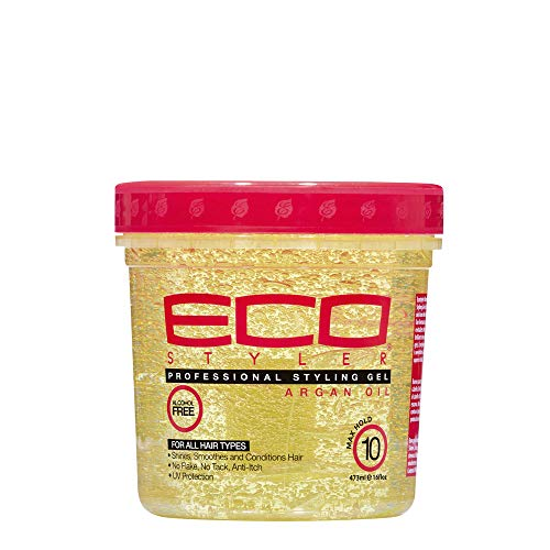 Eco Styler Styling Gel with Moroccan Argan Oil, 473 ml