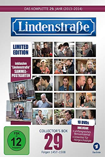 Die Lindenstraße - Das komplette 29. Jahr, Folgen 1457-1508 (Collector's Box Limited Edition,10 Discs)