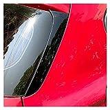 ZZXL Nueva 2pcs Bldsey Black Window Spoiler Spoiler Wing ATH Funda Ajuste for BMW 1 Serie F20 F21 2012-2019