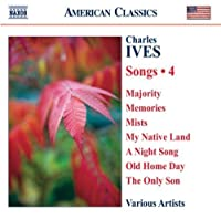 Complete Songs 4 by C. Ives (2008-09-30)