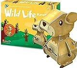 Puzzle Rompecabezas de Vida Salvaje Kangroo, niños de 3 años o más