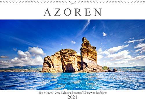 A Z O R E N (Wandkalender 2021 DIN A3 quer)