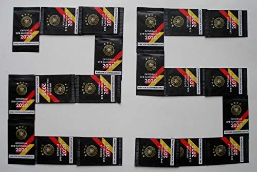 Rewe 25x EM 2020 DFB - Sammelkarten - 25 Päckchen - Tüten - Karten - OVP - NEU