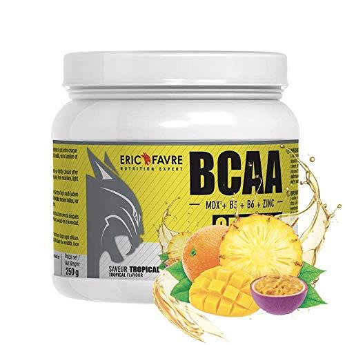 BCAA Optimiz |BCAA enrichie en Vitamine B & Zinc | Acides Aminés - Idéal Pendant L'Entraînement |250 gr - Laboratoire Français Eric Favre