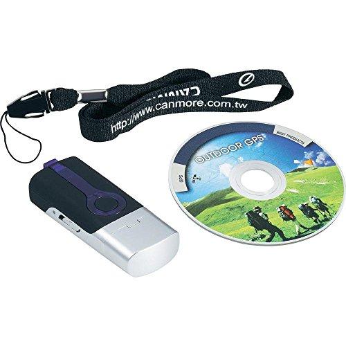 GT-730FL (Laque piano noire) Data Logger GPS MOUSE RECEIVER Récepteur GPS USB Photo Tagger Integrated Battery 17 hours