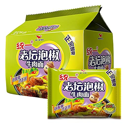 Ase-usTongyi Time sale Laotan National products Pickled Pepper Instant Insta Noodles