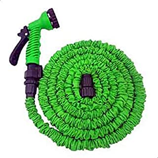 X Hose Expandable Hose, 100 Feet with Sprayer Nozzle