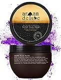 Argan Deluxe Silber-Haarmaske in Friseur-Qualität 250 ml - ergänzende Kur zu Silber-Shampoo für...