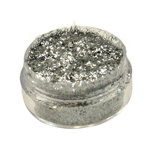 Diamond FX Polyester Glitter – Fibre Silver (5 GM)