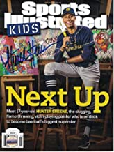Hunter Greene Autographed Signed Notre Dame Fighting Irish Sports Illustrated Kids JSA