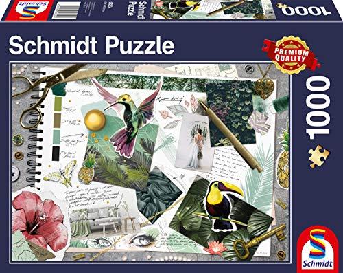 Schmidt Spiele Puzzle 58354 Moodboard, 1000 Teile Puzzle, bunt