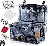 45QT Cold Bastard Rugged+ CAMO Sand Gray Best Premium Ice Chest Cooler Accessories Free S&H