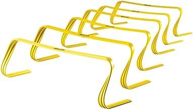 "SKLZ 6x Hurdles- 6"" Ultra Durable, All Purpose Speed Training, Agility, and Plyometric Hurdles (Set of 6). (Renewed)"