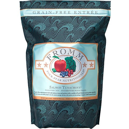 Fromm 4-Star Salmon Tunachovy Dry Cat Food
