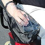 TXYFYP Rollstuhl Joystick Abdeckung, Elektrischer Kontrolle Panel Wasserfest Power Schutzhülle, Schutz für Box - Schwarz, 25x15cm