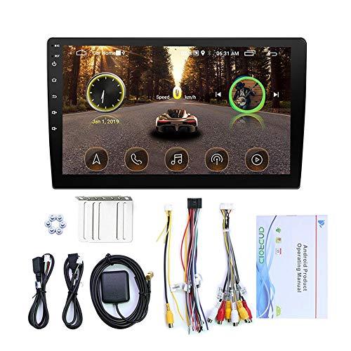 2 Din GPS Navi Navigation Für Auto, 9/10,1 Zoll HD Touchscreen GPS, 1024x600 Auflösung, Kostenloses Kartenupdate Navigationsgerät, Sprachführung Blitzerwarnung