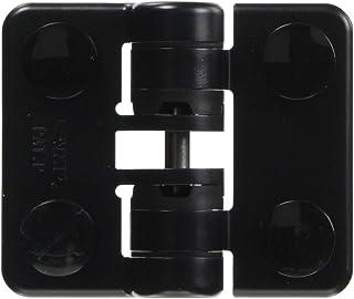 スガツネ工業 ランプ印 樹脂製ストッパーヒンジ HG-YJ50型 HG-YJ50BL