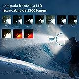 Immagine 1 wuben h1 lampada frontale led