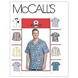McCall's Patterns M2149 Men's Shirts, Size L-XL