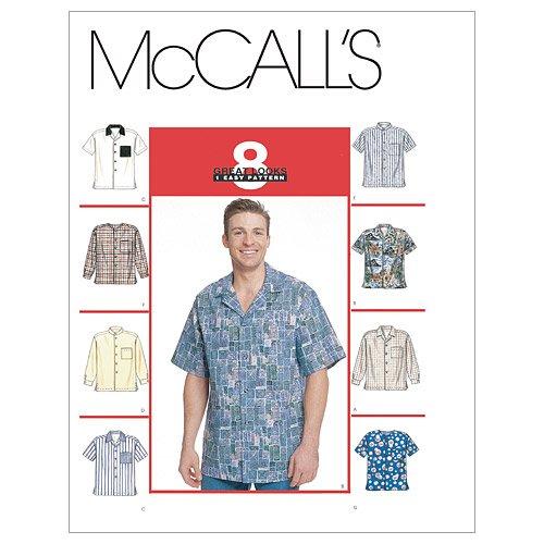 McCall's Patronen M2149 Heren Shirts