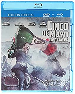 Cinco De Mayo La Batalla Blu Ray + DVD Multiregion (Spanish Audio and English Subtitles)